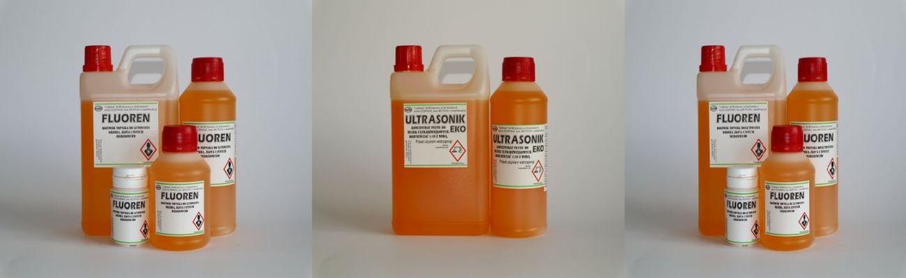 Fluoren roztwor topnika do lutowania srebra zlota i innych miedziowcow Ultrasonik koncentrat plynu do myjek ultradzwiekowych rozcienczac 1 do 10 z woda Ultrasonik koncentrat plynu do myjek ultradzwiekowych rozcien